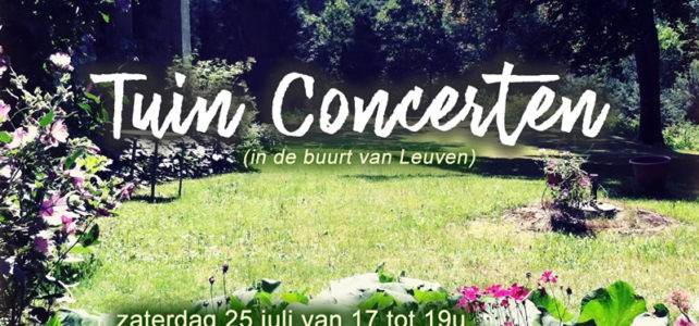 Tuin-MANTRA-concerten